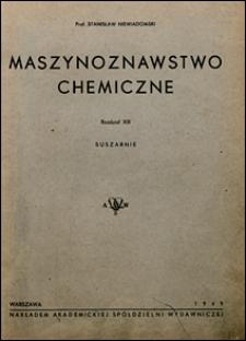 Maszynoznawstwo chemiczne : Rozdział XIII, Suszarnie