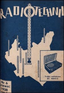 Radjotechnik 1938 nr 6
