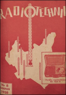 Radjotechnik 1938 nr 8