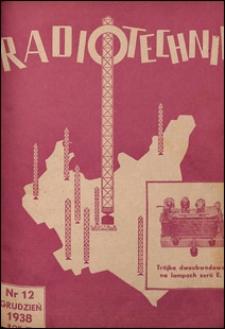 Radjotechnik 1938 nr 12