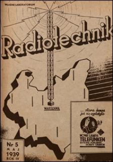 Radjotechnik 1939 nr 5