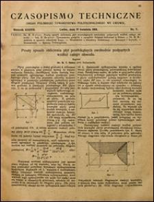 Czasopismo Techniczne 1919 nr 7