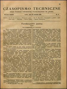 Czasopismo Techniczne 1919 nr 8