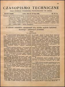 Czasopismo Techniczne 1919 nr 13-14