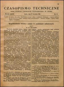 Czasopismo Techniczne 1919 nr 17
