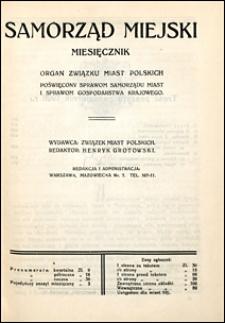 Samorząd Miejski 1926 nr 10