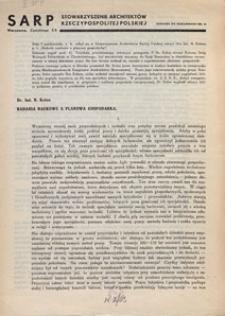 Komunikat SARP-u 1934 nr 4 dodatek