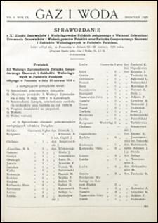 Gaz i Woda 1929 nr 8
