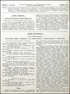 Czasopismo Techniczne 1931 nr 2