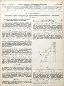 Czasopismo Techniczne 1931 nr 4
