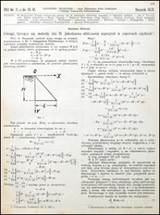 Czasopismo Techniczne 1931 nr 11