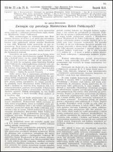 Czasopismo Techniczne 1931 nr 22