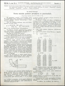 Czasopismo Techniczne 1933 nr 4