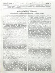 Czasopismo Techniczne 1933 nr 5