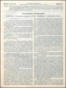 Czasopismo Techniczne 1934 nr 3