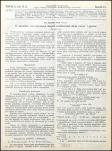 Czasopismo Techniczne 1934 nr 5