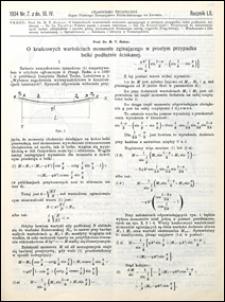Czasopismo Techniczne 1934 nr 7