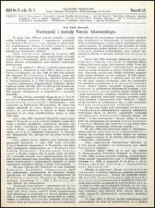 Czasopismo Techniczne 1934 nr 9