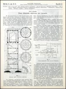 Czasopismo Techniczne 1934 nr 11