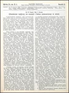 Czasopismo Techniczne 1934 nr 20