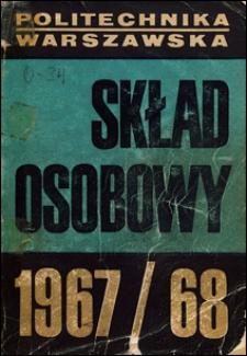 Skład osobowy. Rok akademicki 1967-1968