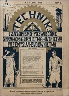 Technik 1929 nr 1