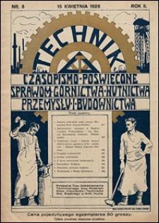 Technik 1929 nr 8