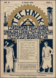 Technik 1929 nr 10
