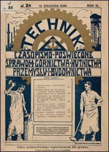 Technik 1930 nr 24