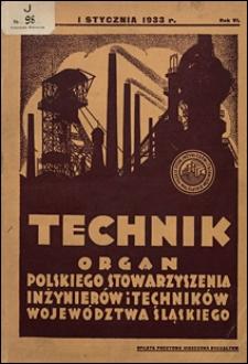 Technik 1933 nr 1