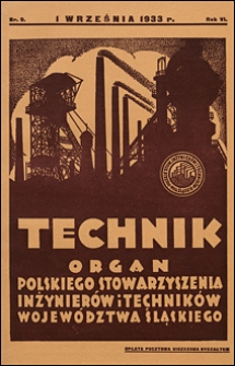 Technik 1933 nr 9