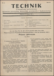 Technik 1931 nr 4