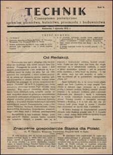 Technik 1932 nr 1
