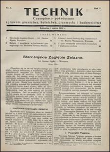 Technik 1932 nr 5