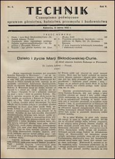 Technik 1932 nr 6