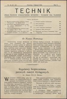 Technik 1932 nr 20/22