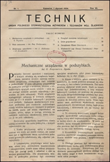 Technik 1934 nr 1