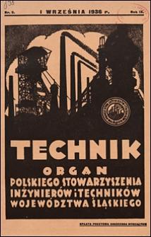 Technik 1936 nr 9