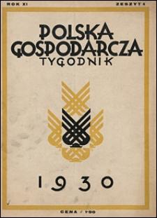 Polska Gospodarcza 1930 nr 4