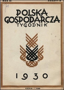 Polska Gospodarcza 1930 nr 9
