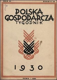 Polska Gospodarcza 1930 nr 10
