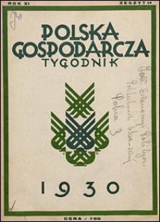Polska Gospodarcza 1930 nr 14