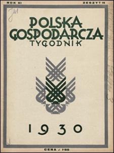 Polska Gospodarcza 1930 nr 18