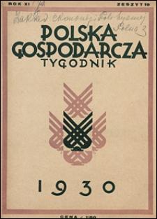 Polska Gospodarcza 1930 nr 19