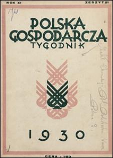 Polska Gospodarcza 1930 nr 21