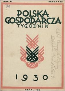Polska Gospodarcza 1930 nr 22