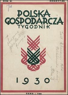 Polska Gospodarcza 1930 nr 23