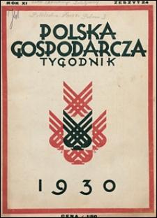 Polska Gospodarcza 1930 nr 24