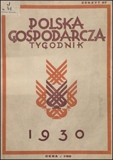 Polska Gospodarcza 1930 nr 27
