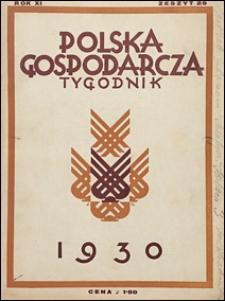 Polska Gospodarcza 1930 nr 29
